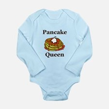 Pancake Queen Long Sleeve Infant Bodysuit
