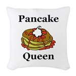 Pancake Queen Woven Throw Pillow