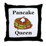 Pancake Queen Throw Pillow