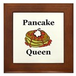 Pancake Queen Framed Tile