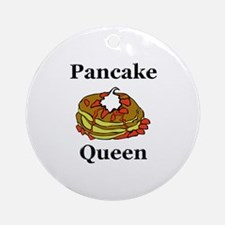 Pancake Queen Ornament (Round)