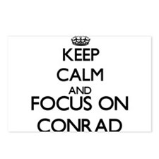 Keep calm and Focus on Co Postcards (Package of 8)