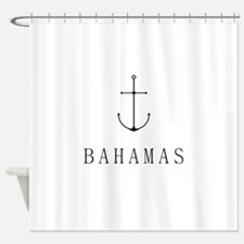 Bahamas Sailing Anchor Shower Curtain