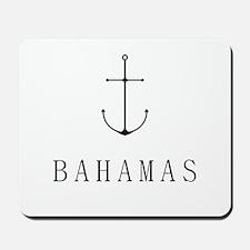 Bahamas Sailing Anchor Mousepad