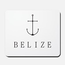 Belize Sailing Anchor Mousepad
