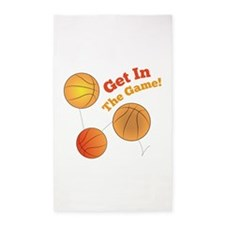 Get In The Game! Area Rug