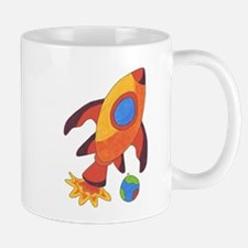 Rocket Ship Mug