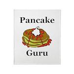 Pancake Guru Throw Blanket