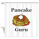 Pancake Guru Shower Curtain