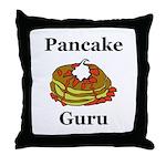 Pancake Guru Throw Pillow