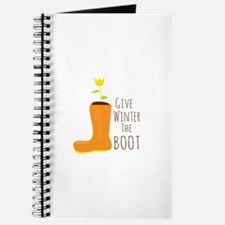 Winter The Boot Journal