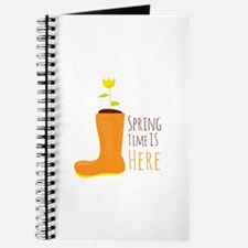 Spring Is Here Journal