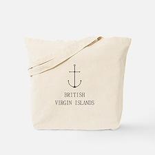 British Virgin Islands Sailing Tote Bag