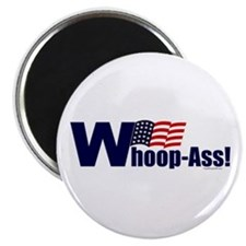 "Whoop-Ass! 2.25"" Magnet (100 pack)"
