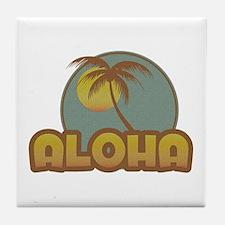 Aloha Palm Tile Coaster