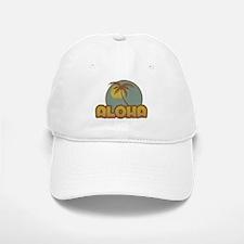 Aloha Palm Baseball Baseball Cap