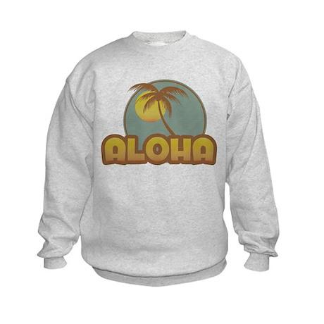Aloha Palm Kids Sweatshirt