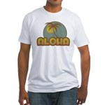 Aloha Palm Fitted T-Shirt