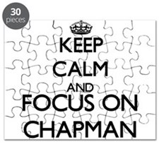 Keep calm and Focus on Chapman Puzzle