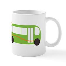 Green Bus Mugs