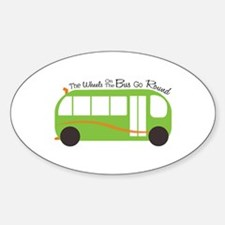 Wheels On Bus Decal