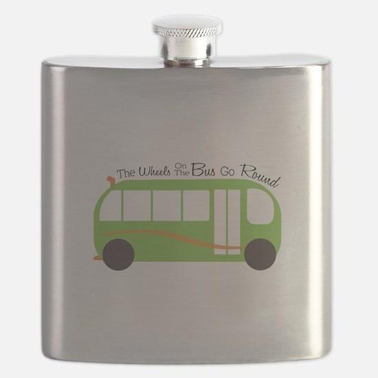 Wheels On Bus Flask
