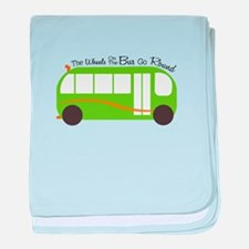 Wheels On Bus baby blanket