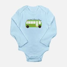 Wheels On Bus Body Suit