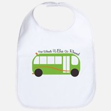 Wheels On Bus Bib