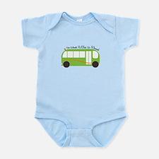 Wheels On Bus Body Suit