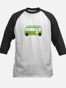 Wheels On Bus Baseball Jersey