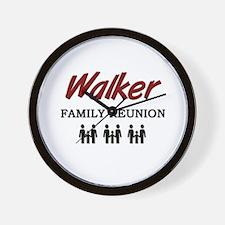 Walker Family Reunion Wall Clock