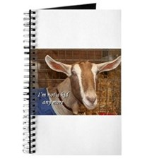 I'm not a kid any more: goat Journal