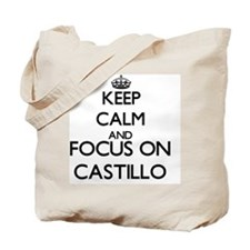 Keep calm and Focus on Castillo Tote Bag