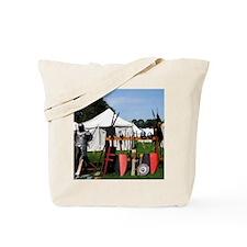 Medival Camp Tote Bag