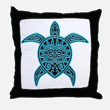 Divinity Maori Turtle 45 Throw Pillow