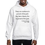Nietzsche 21 Hooded Sweatshirt