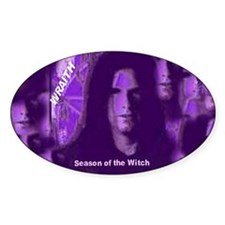 Witch Power Oval Decal