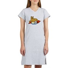 Cat And Mouse Women's Nightshirt