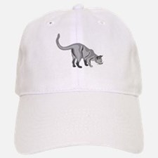 Grey Cat Baseball Baseball Baseball Cap