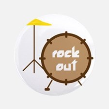 "Rock Out 3.5"" Button"