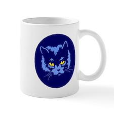 Blue Cat Mugs