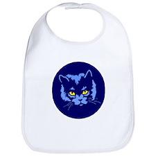 Blue Cat Bib