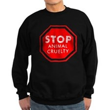 Stop Animal Cruelty Sweatshirt