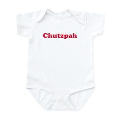 Chutzpah Infant Bodysuit