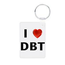 I love DBT Keychains