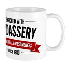 Enriched with Badassery Skull Small Mug