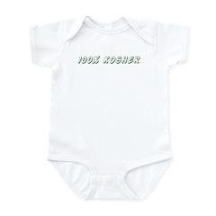 100% Kosher Infant Bodysuit