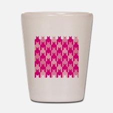 Pink CatsTooth Shot Glass