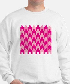 Pink CatsTooth Sweatshirt